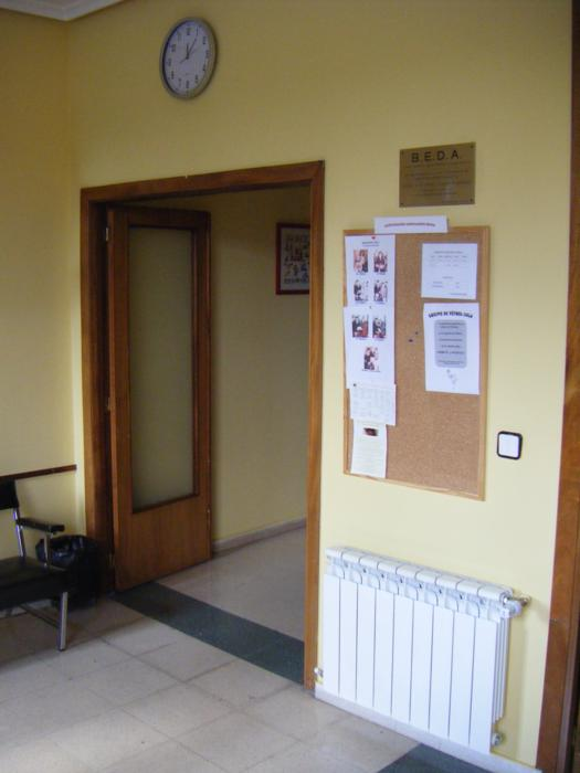 Acceso Sala de Terapia